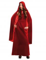 Rood heksen kostuum voor vrouwen