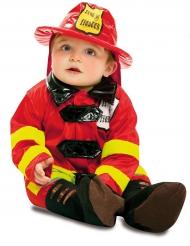 Brandweer kostuum voor baby