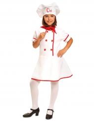 Kok kostuum voor meisjes