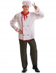 Chef kok kostuum voor mannen