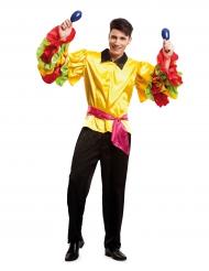 Rumba danser kostuum voor mannen
