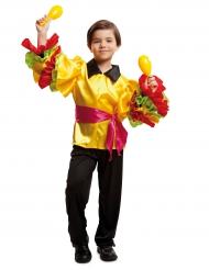 Rumba danser kostuum voor jongens