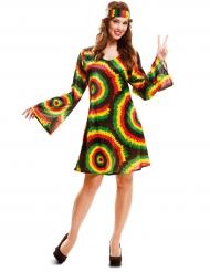Rasta jurk kostuum voor vrouwen