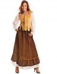 Middeleeuwse herbergier outfit voor vrouwen