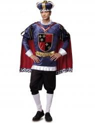 Luxe koning kostuum voor mannen