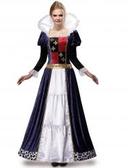 Luxe koningin kostuum voor dames