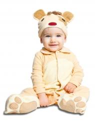 Kleine beer met speen kostuum voor baby