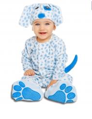 Luxe kleine hond kostuum met speen voor baby
