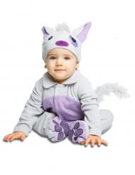Luxe kat met fopspeen kostuum voor baby