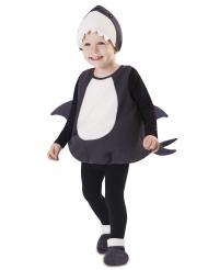 Kleine haai kostuum voor baby