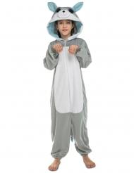 Wolf onesie voor kinderen