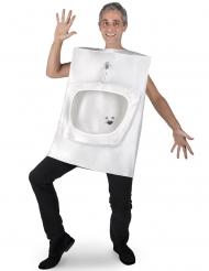 Toilet kostuum voor volwassenen