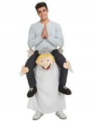 Carry me engel kostuum voor volwassenen