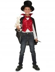 Goochelaar leerling kostuum met accessoires voor kinderen