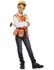Bouwvakker kostuum met accessoires voor kinderen