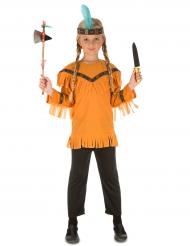 Indianen kostuum met accessoires voor kinderen