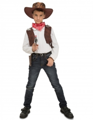 Cowboy kostuum met accessoires voor kinderen