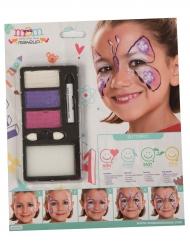 Vlinder make up set voor kinderen
