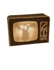 Televisiescherm decoratie met licht en geluid