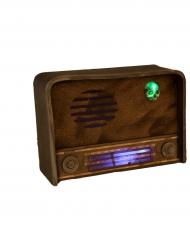 Radio decoratie met licht en geluid