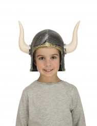 Viking helm met hoorns voor kinderen