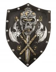 Luxe viking skelet schild