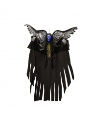 Skelet hangdecoratie met vleugels en licht