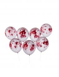 8 bloederige Halloween ballonnen