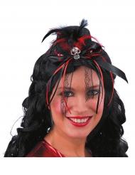 Mini Dia de los Muertos hoed voor vrouwen