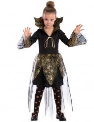 Vampier spinnenweb kostuum voor meisjes