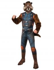 Rocket Raccoon™ kostuum met masker voor volwassenen