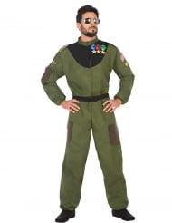 Militaire piloot kostuum voor mannen