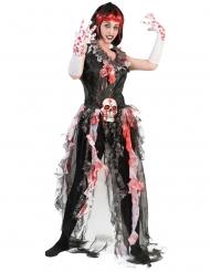 Bloederige bruid kostuum voor dames
