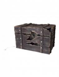 Kist met verborgen wezen met licht en geluid