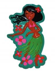 Hawaiiaanse danseres muur decoratie