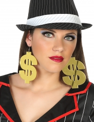 Enorme dollar oorbellen voor volwassenen