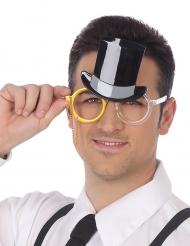 Hoge hoed bril voor volwassenen