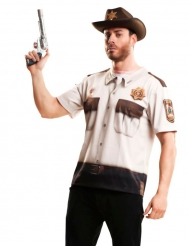 Sheriff van de lopende doden t-shirt