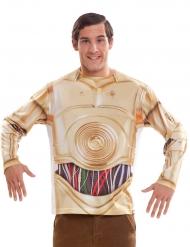 Star Wars™ C-3PO t-shirt voor volwassenen