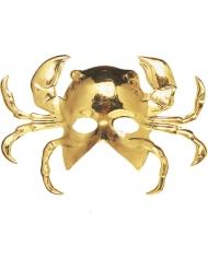 Goudkleurig krab masker voor volwassenen
