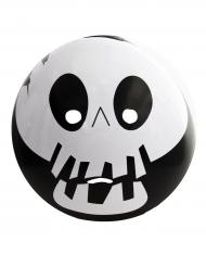 Skelet emoticon masker voor volwassenen