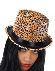 Luipaard hoed voor volwassenen