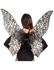 Grote zwarte vlinder vleugels voor vrouwen