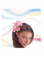 Roze haar bloem voor volwassenen