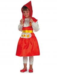 Traditioneel Roodkapje kostuum voor meisjes
