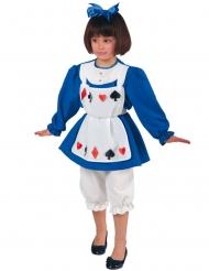 Kaarten prinses kostuum voor meisjes