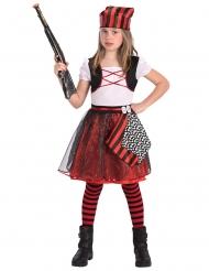 Piraten glitter kostuum voor meisjes