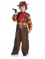 Bruin sheriff kostuum voor jongens