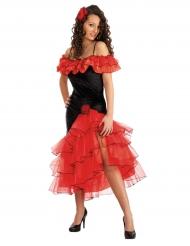 Verleidelijke Spaanse danseres kostuum voor vrouwen