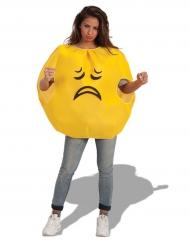 Trieste emoticon kostuum voor volwassenen